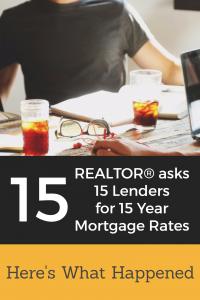 15 Year Mortgage Rates Pin