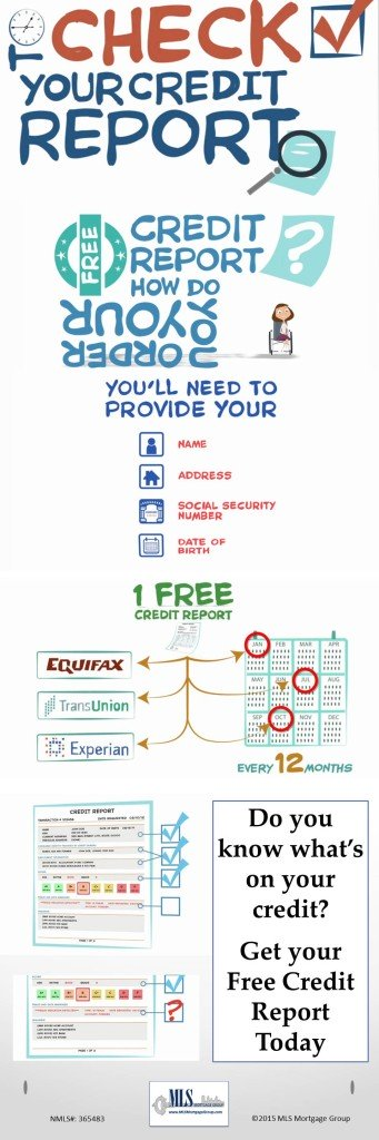 Free Credit Report Infographic