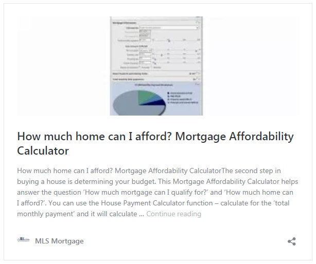 Mortgage Calculator with Down Payment