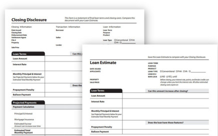 Know Before You Owe Blank Disclosures - Featured