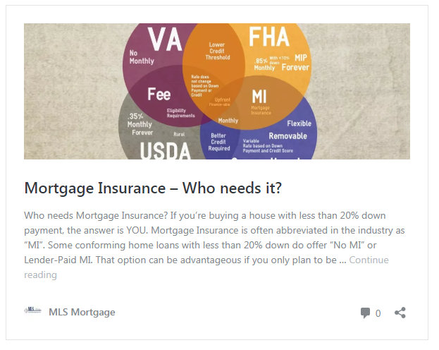 How much is a downpayment on house to not have mortgage insurance?