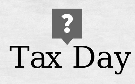 tax day tax deadline last day to file taxes