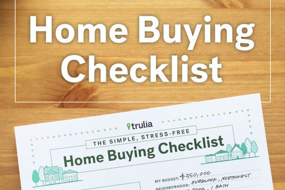 It is a picture of Home Buying Checklist Printable with yearly home maintenance