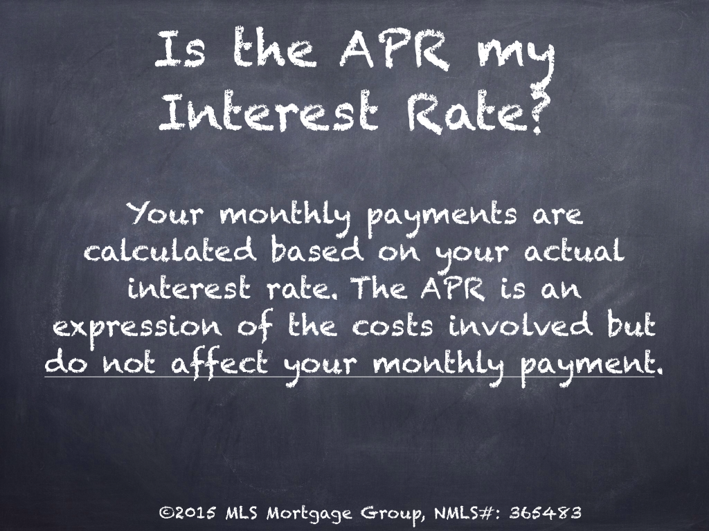 What is the Difference between Mortgage Rate and APR What is APR Rate How Does APR Work